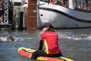 EK openwater zwemmen boarder