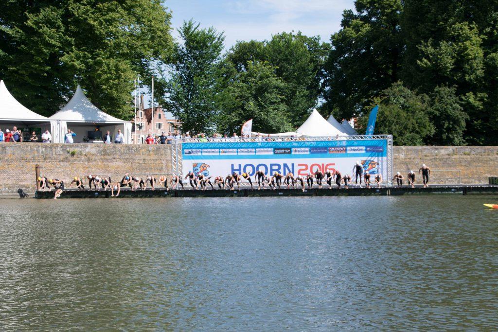 EK openwater zwemmen start